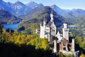 Top Romantic Places in Schwangau, Bavaria by Neuschwanstein Castle