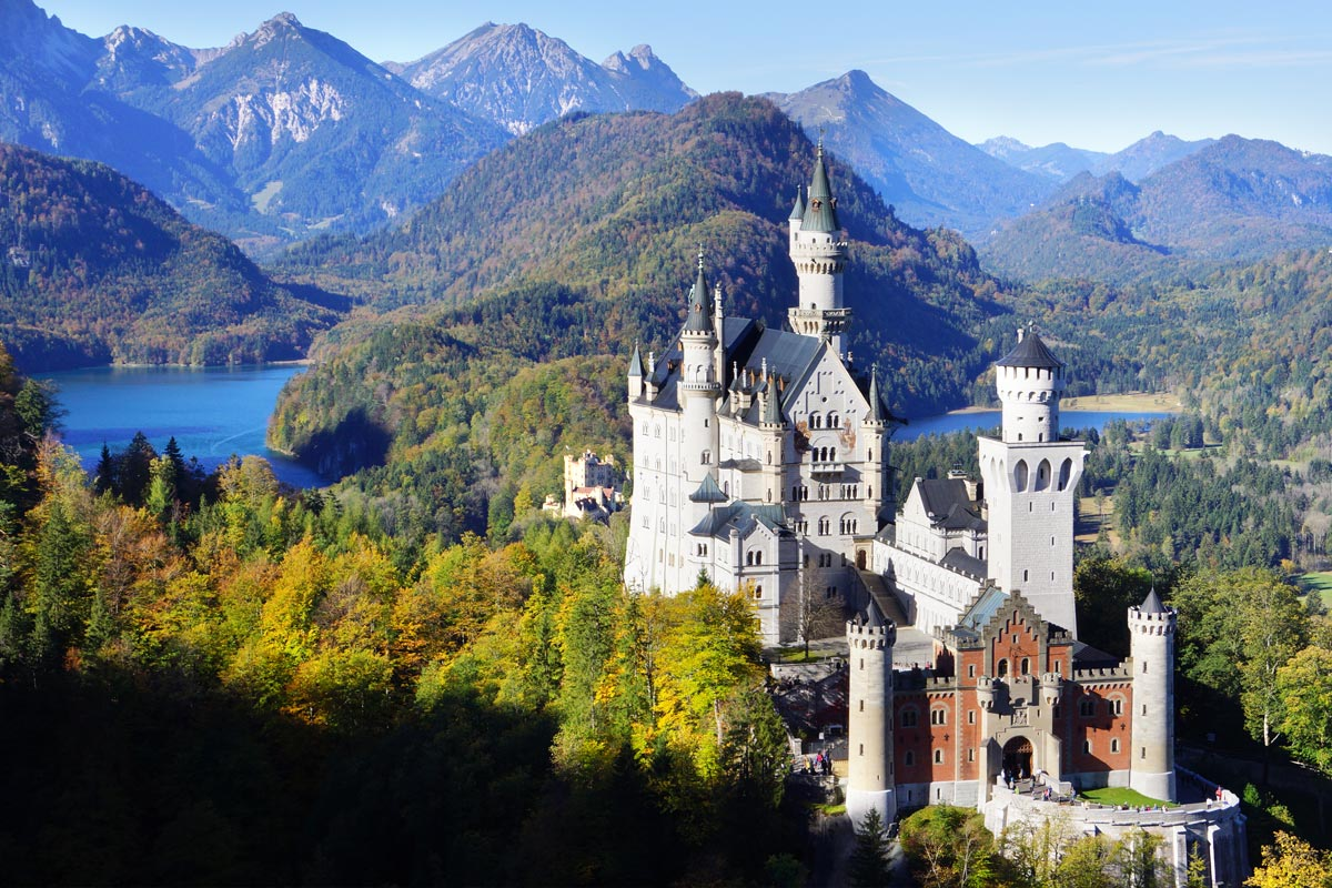 Top Romantic Places in Schwangau, Bavaria by Neuschwanstein Castle