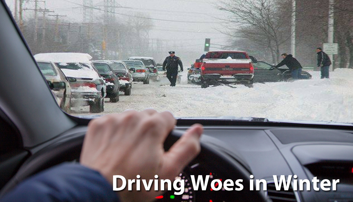 Accessories that Will End All Your Driving Woes in Winter